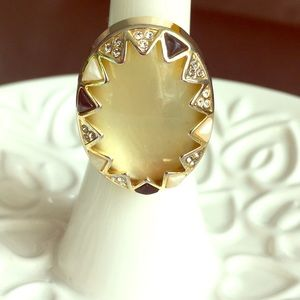 House of Harlow Cabochon Ring